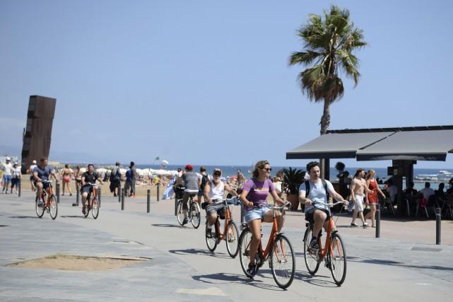 Ville la plus visitée d'Espagne, Barcelone retient son souffle et espère que... (PHOTO AFP)