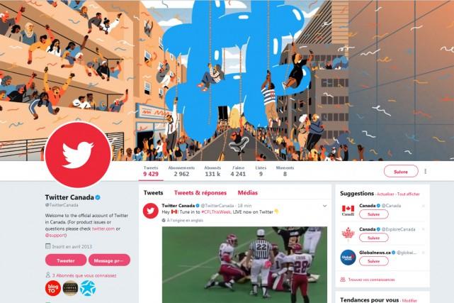 Un an et demi après son arrivée, le directeur général de Twitter Canada a causé... (CAPTURE D'ÉCRAN)