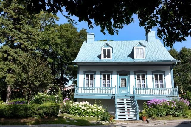 La maison a été érigée sur l'avenue Royale... (Le Soleil, Erick Labbé)