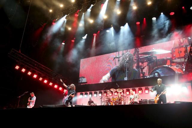 Les Foo Fighters faisaient partie de l'affiche du... (AFP)