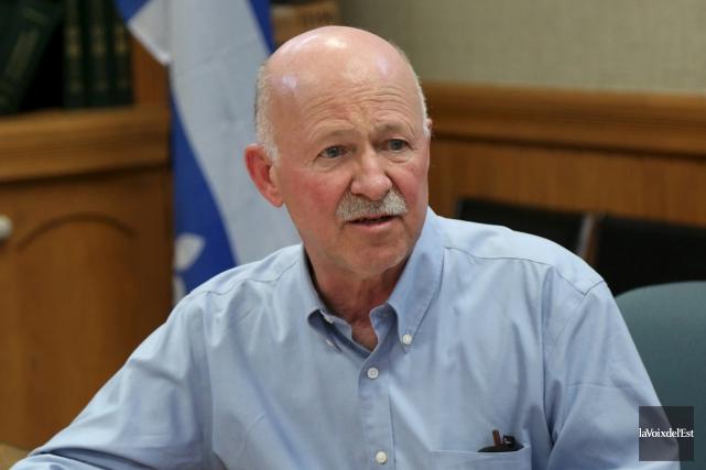 Le député fédéral de Brome-Missisquoi, Denis Paradis, est... (archives La Voix de l'Est)