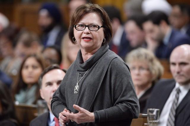 Judy Foote... (Photo archives La Presse Canadienne)