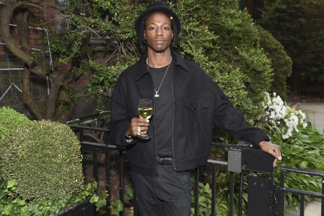Le rappeur Joey Bada$$a annoncé qu'il annulait trois... (AFP, Nicholas Hunt)