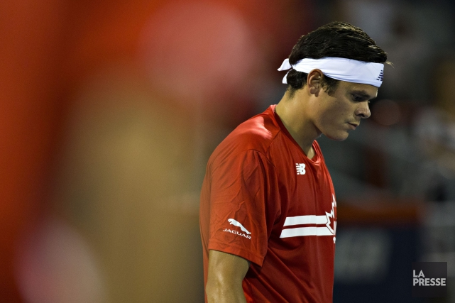 Milos Raonic... (Photo archives La Presse)