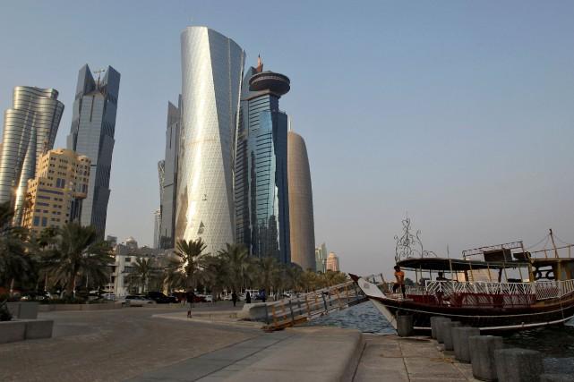 Le Qatar est dirigé, comme l'Arabie saoudite, par... (REUTERS)