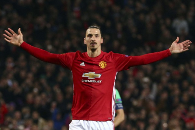 Zlatan Ibrahimovic... (Photo Dave Thompson, AP)