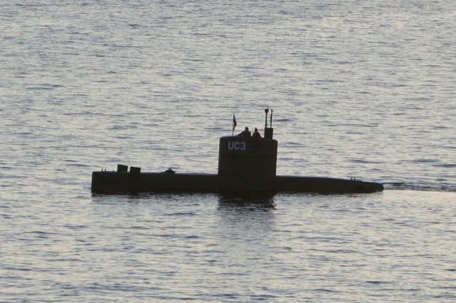 Le submersible privé UC3 Nautilus conçu par Peter... (REUTERS)