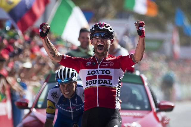 Le Polonais Tomasz Marczynski a remporté la sixième... (Photo Jaime Reina, AFP)