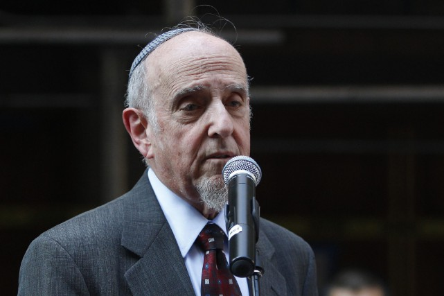 Haskel Lookstein, le rabbin d'Ivanka Trump, a dénoncé... (ARCHIVES AP)