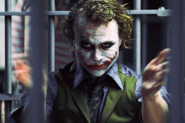 Heath Ledger a incarné le Joker dans The... (photo fournie par warner bros.)