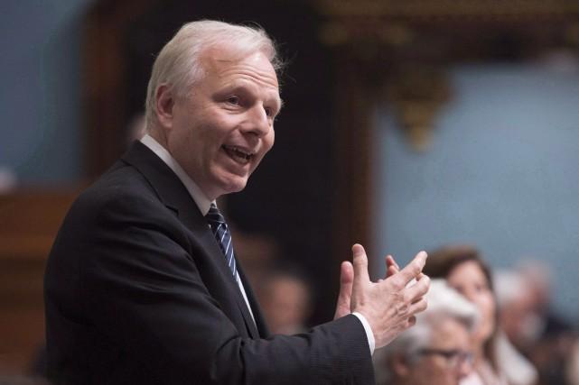Le chef du Parti québécois, Jean-François Lisée.... (Photo Jacques Boissinot, archives PC)