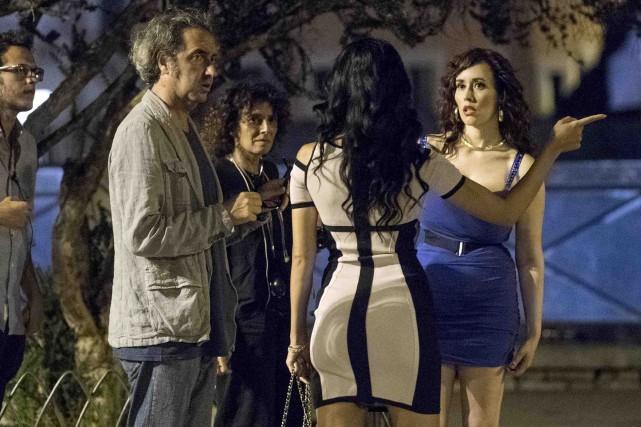 Paolo Sorrentino a tourné près du Colisée de... (AP, Claudio Peri)