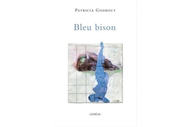 Bleu bison, dePatricia Godbout... (Image fournie par Leméac)