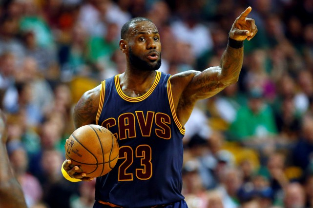 LeBron James (23)... (Photo Winslow Townson, archives USA TODAY Sports)