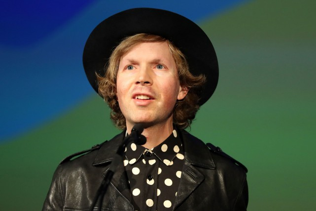 Beck sortira son nouvel album avec un an... (Photo archives AFP)