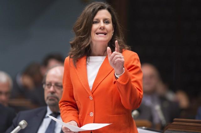 Le projet de loi 62de la ministre de... (Photo Archives La Presse canadienne)