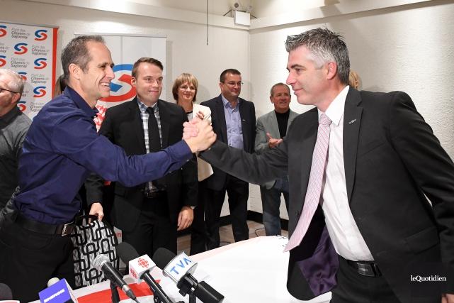 Le nouveau chef du Parti des citoyens de... (Photo Le Quotidien, Rocket Lavoie)