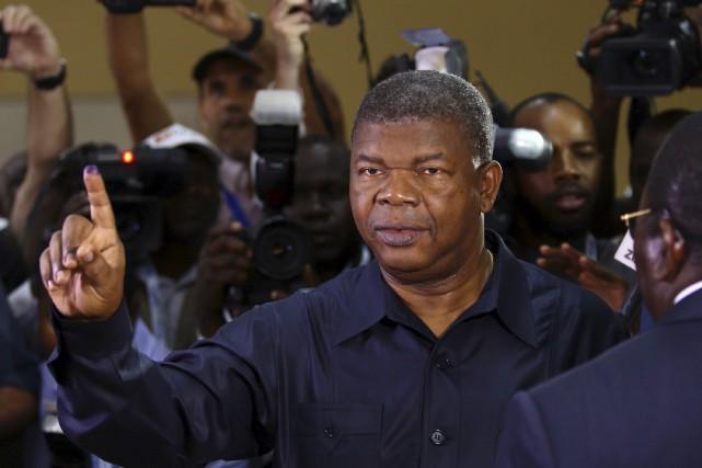 Sans surprise, Joao Lourenço a été élu à... (AP, Bruno Fonseca)