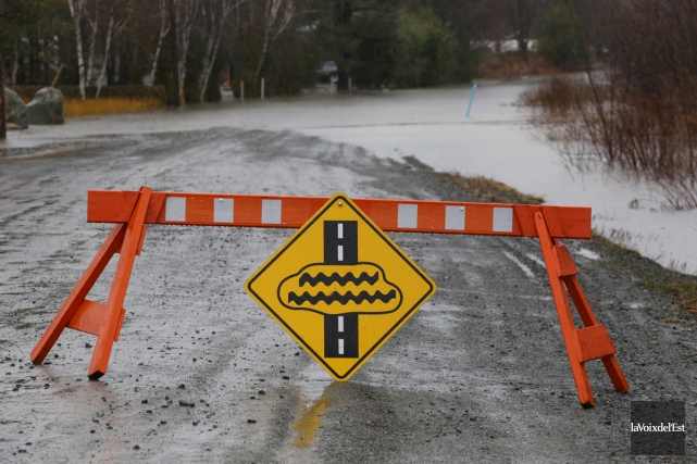 La MRC Brome-Missisquoi identifiera les zones inondables dans... (Alain Dion, archives La Voix de l'Est)