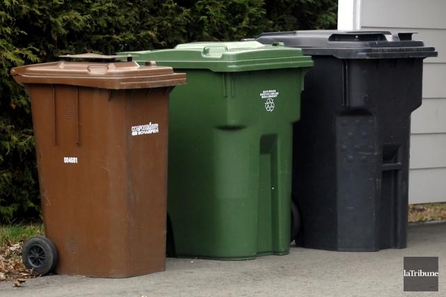 Les MRC de l'Estrie devront songer à une gestion intégrée de leurs déchets.... (Archives, La Tribune)