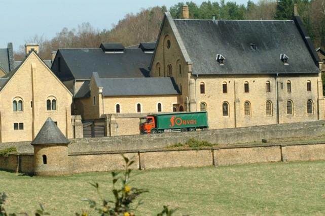 La brasserie de l'abbaye d'Orval, en Belgique.... (tirée du site internet de la brasserie Orval)