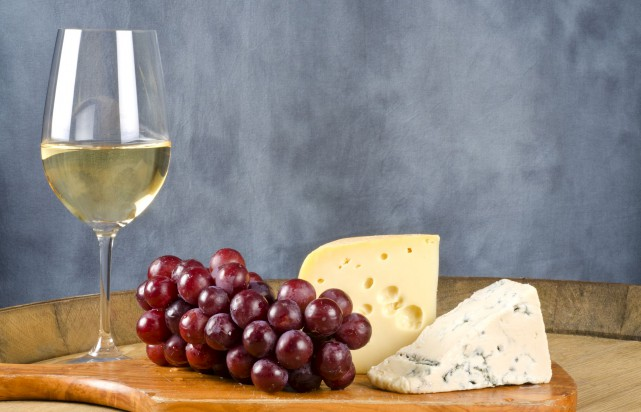 17189821 - wine and cheese...