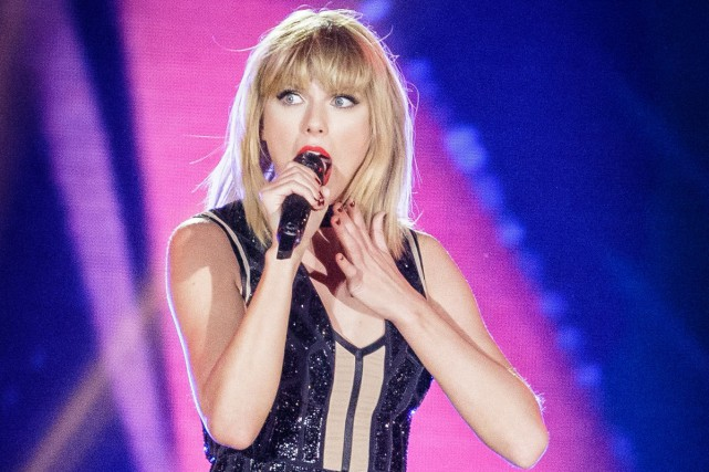La superstar américaine de la pop Taylor Swift a sorti vendredi un premier... (PHOTO ARCHIVES AFP)