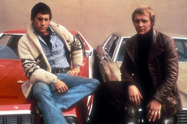 David Starsky (Paul Michael Glaser) et Kenneth «Hutch»... (CAPTURE D'ÉCRAN)