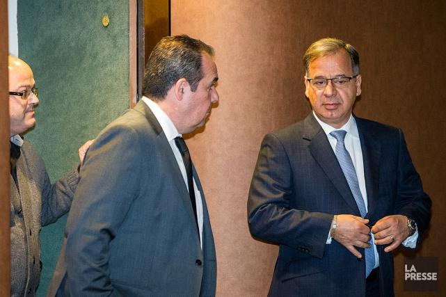 De gauche à droite: les accusés Pascal Patrice,... (PHOTO EDOUARD PLANTE-FRÉCHETTE, ARCHIVES LA PRESSE)