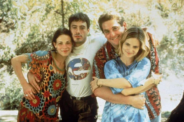 Lili Taylor, Robert Downey Jr., Chris Penn et... (CAPTURE D'ÉCRAN)