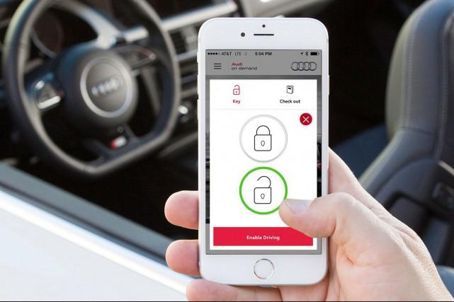 Audi on Demand est un des nombreux services... (Photo : Audi)