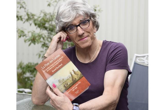 L'historienne Russel-Aurore Bouchard présente son nouveau livre, La... (Photo Le Progrès, Jeannot Lévesque)