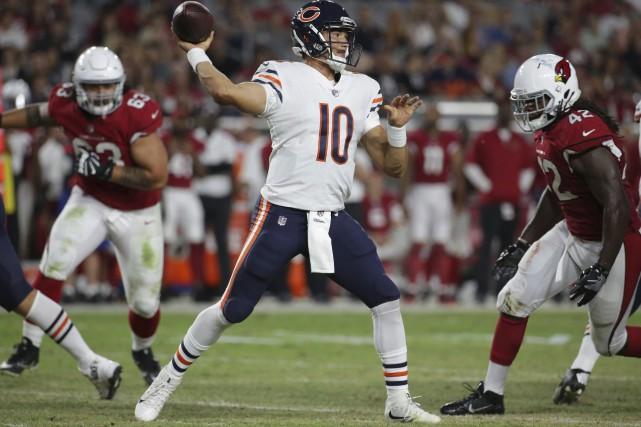 Les Bears de Chicago ont surpris tout le... (AP, Ralph Freso)