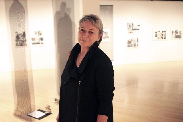 L'artiste gaspésienne Odette Ducasse, dont les oeuvres sont... (Etienne Ranger, Le Droit)