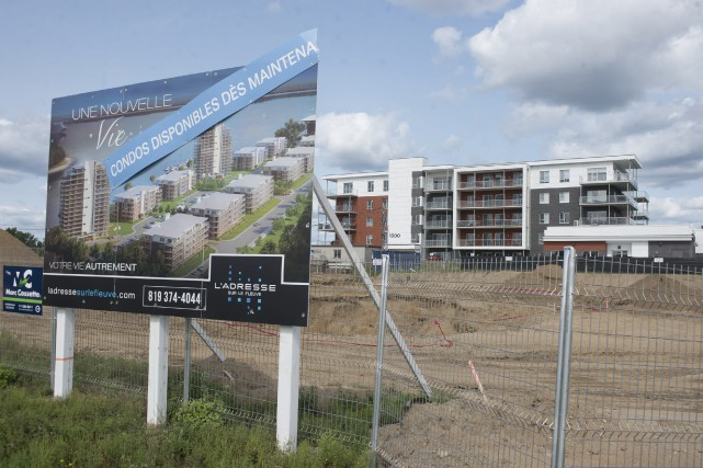 Le développement de l'Adresse sur le fleuve va... (Stéphane Lessard)