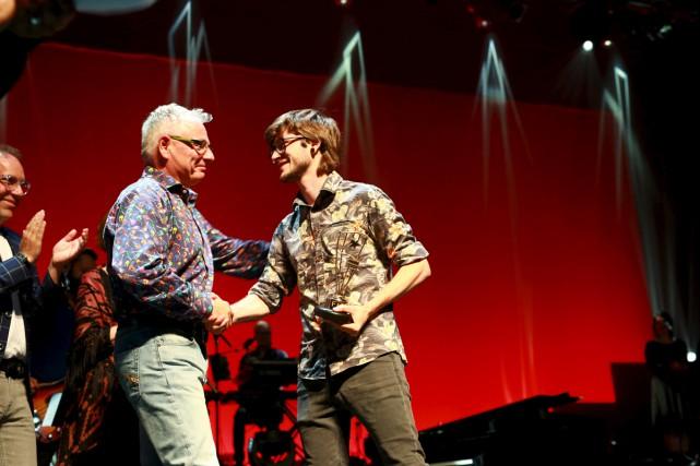 Pierre Guitard a été sacré grand lauréat du 49e Festival international de la... (Catherine Trudeau)