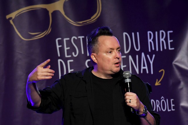 Mike Ward était la tête d'affiche du Festival... (Photo Le Progrès, Rocket Lavoie)