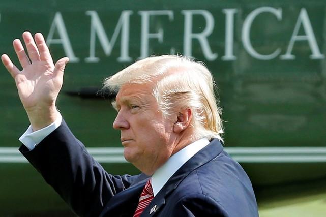 Après seulement sept mois avec Donald Trump en... (PHOTO YURI GRIPAS, REUTERS)
