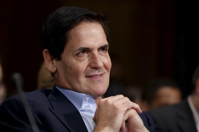 Le milliardaire Mark Cuban est notamment propriétaire des... (Archives AP)