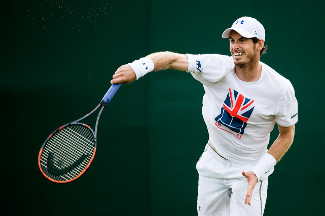 Andy Murray... (PHOTO PETER KLAUNZER, ARCHIVES AP/KEYSTONE)