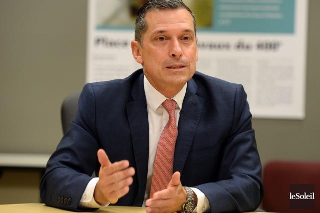 Bernard Tremblay, président-directeur général de la Fédération des... (Le Soleil, Erick Labbé)