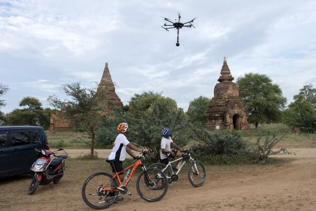 La société de réalité virtuelle 3xvivr utilise des... (AFP, Ye Aung Thu)