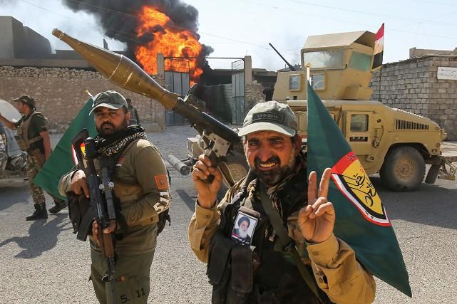 Sur l'ensemble de la région de Tal Afar,... (Photo AFP)