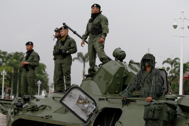 Le coup d'envoi de ces manoeuvres baptisées Souveraineté... (AP, Ricardo Mazalan)