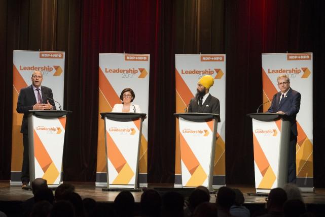 Le huitième et dernier débat aura lieu à... (PHOTO ROBERT SKINNER, LA PRESSE)