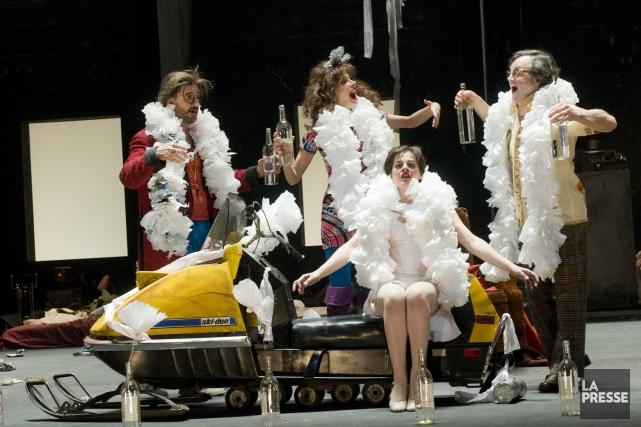 Réjean Ducharme a entre autres publié la pièce... (Photo Archives La Presse)