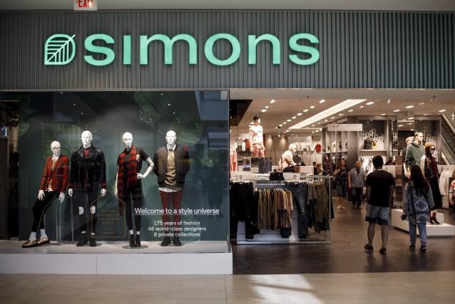 Le second magasin Simons ouvert à Edmonton, samedi,... (La Presse canadienne, Jason Franson)