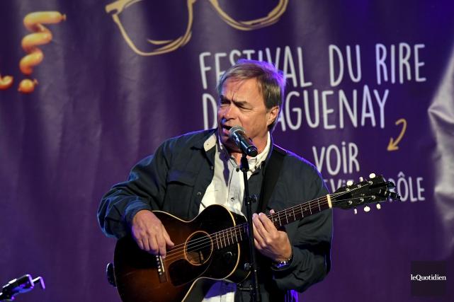 En soirée, François Léveillé était attendu dans le... (Le Quotidien, Rocket Lavoie)