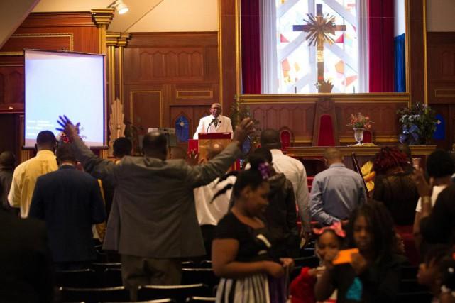 Montréal compte près de 150églises évangéliques fréquentées principalement... (Photo Robert Skinner, La Presse)