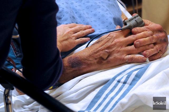 Une vaste majorité de proches aidants de personnes atteintes de la maladie... (Photo Erick Labbé, archives Le Soleil)